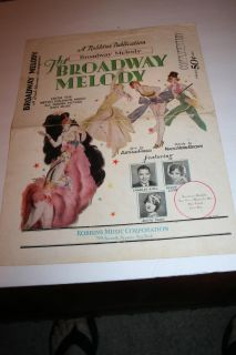 Antique The Broadway Melody 1929