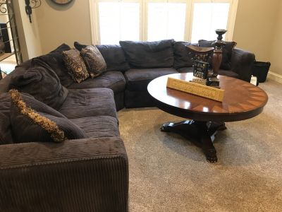 Brown Sofa Sectional , Comfy as all heck!