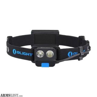 For Sale: Olight H16 Wave 500 Lumen USB Rechargeable Battery Motion Activated Headlamp FL-OL-H16