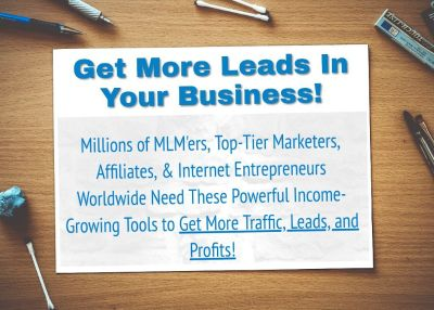 Get More Leads, Sales, & Traffic In Your Business