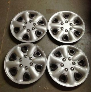 "Sell 15"" Aftermarket Hubcaps 6 lug Hub cap Set 4 CF80-266 Silver motorcycle in Holt, Michigan, US, for US $30.00"