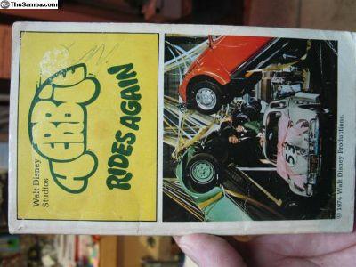 "paperback ""Herbie rides again"" book"