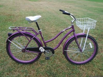 "Christopher Metcalfe Creations 26"" Nel Lusso Women's Perfect Fit Frame Cruiser Bike"