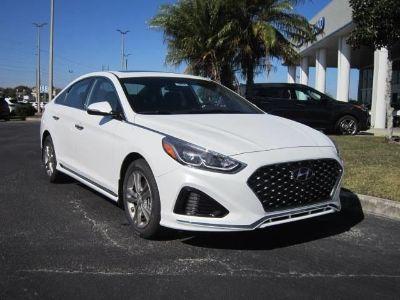 2019 Hyundai Sonata (white)