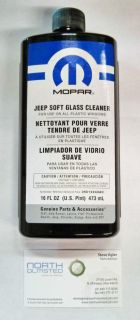 Purchase MOPAR JEEP SOFT TOP WINDOW GLASS CLEANER WRANGLER RUBICON X SPORT TJ JK YJ CJ motorcycle in North Olmsted, Ohio, US, for US $11.25