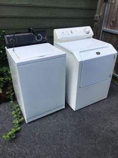 Washing Machine, Dryer. FREE but AS IS