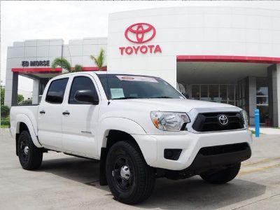 2015 Toyota Tacoma PreRunner (white)