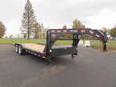 """2020 PJ Trailers Flatdeck B6 102"""" X 22' Gooseneck Buggy"""