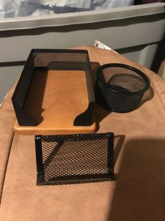 Desk organizers all 3 for $1