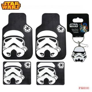 Buy New 5pc Star Wars Storm Trooper Car Truck Front Rubber All Weather Floor Mats motorcycle in Monrovia, California, United States, for US $58.94