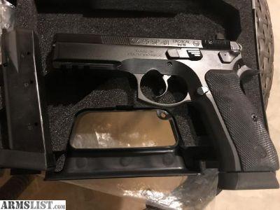 For Trade: LNIB CZ 75 SP-01 Tactical