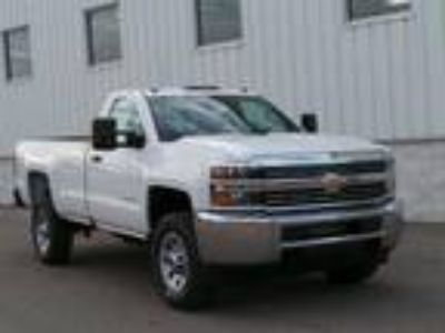 2017 Chevrolet Silverado 2500 White, new