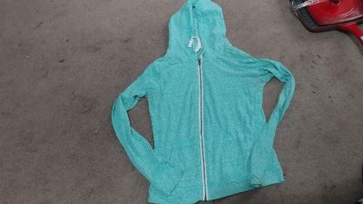 Light weight zip up hoodie size small