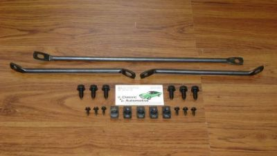 Sell Front Spoiler Brackets and Hardware 20pc Kit 69 Camaro *In Stock* braces motorcycle in Warrenville, Illinois, United States, for US $25.80