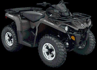 2018 Can-Am Outlander DPS 450 Utility ATVs Eugene, OR