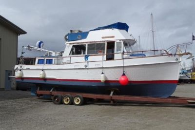 1970 Grand Banks 36 Classic Tri Cabin