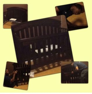 Crib and changing table sold together ONLY!!
