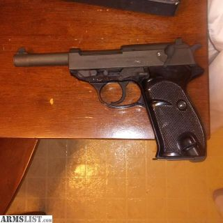 For Sale: WALTHER P38 POST WAR POLICE GUN C&R
