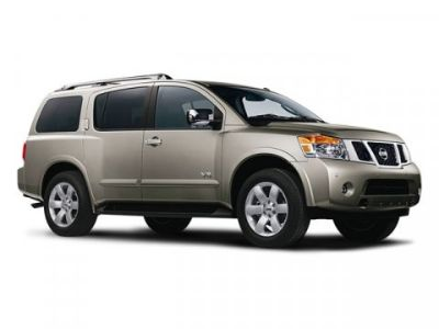 2008 Nissan Armada SE FFV (BROWN)