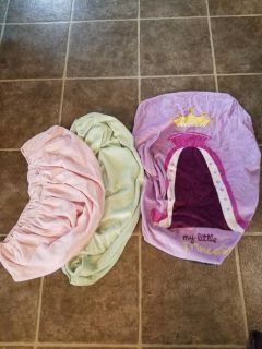Girls changing table covers