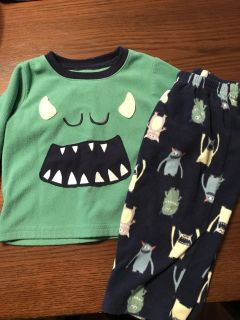 18 month monster jammies