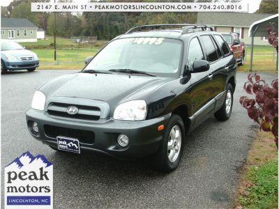 2005 Hyundai Santa Fe GLS (Midnight Blue)
