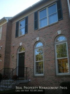 Spacious 3 Level Townhouse- 2 Master Suites +Den!