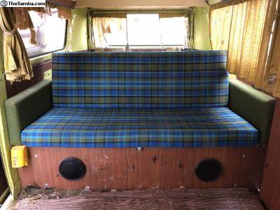 1975 Westfalia Full width Z-Bed