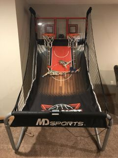 Electronic Basketball Game System