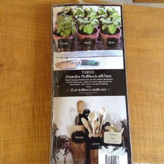 Chalkboards Double Sided with Twine (3each NIP/Unused)-Great for Parties,Showers, Weddings, Kitchen, Herbs, etc