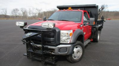 "2012 Ford Super Duty F-550 DRW 4WD Reg Cab 189"" WB 108"" CA XL (Autumn Red)"