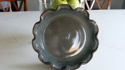 North Carolina Pottery- pie dish