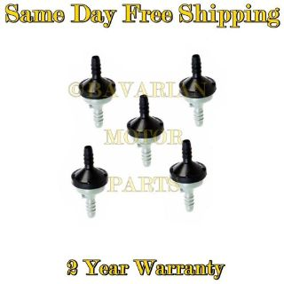 Find Vacuum Air Pump Check Valves - Set of 5 - Replaces OE # 058 905 291 K motorcycle in Sun Valley, California, United States, for US $31.95