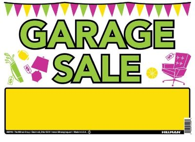 Garage Sale Friday (one day only)!!