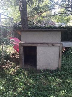 50 x 50 wooden dog house made for German Shepherd