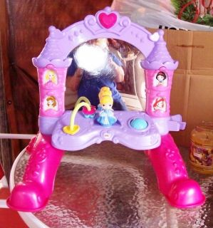 Cinderella and Friends Mirror and Activity Play Center