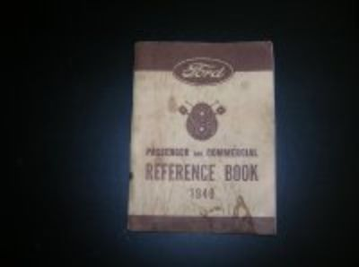 40 Ford reference book