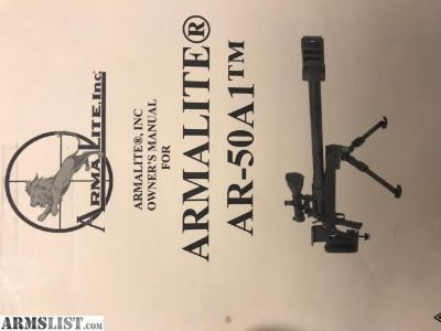 For Sale: Armalite 50 BMG