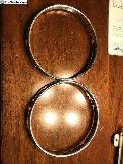 Sb12 chrome headlight holders