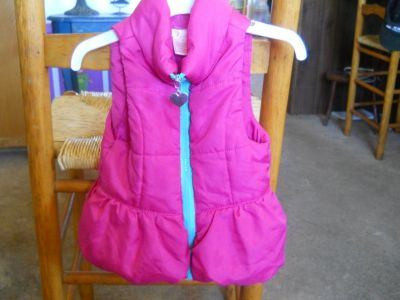 Pink Puffer Vest for Toddler