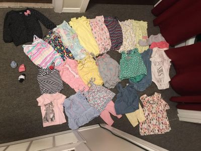 Baby girl clothes lot - 9 month.