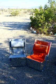 REI folding camp chairs: