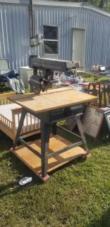 Today only pickup only! Table/arm saw $40