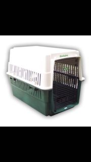 ISO large plastic dog crate