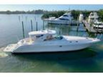 2002 Sea Ray 580 Super Sun Sport