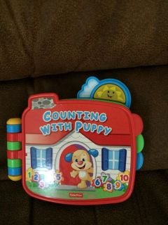 Fisher Price counting with puppy