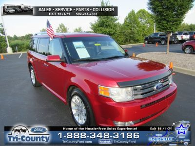 2012 Ford Flex SEL (Red)