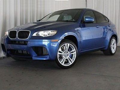 2014 BMW X6 M (Monte Carlo Blue Metallic)