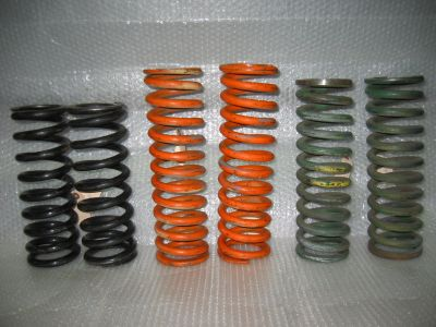 Coil over springs/pair