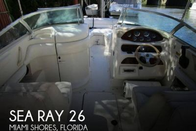 1999 Sea Ray 260 Signature Select